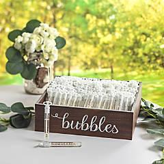 Bubble Send Off Set - 144 Pc.