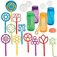 Bubble Wand and Bubbles Kit