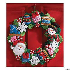 Bucilla Felt Wreath Applique Kit 16
