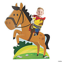 Bucking Cowboy Stand-Up