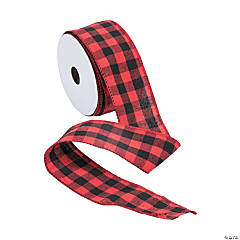 Buffalo Plaid Ribbon - 2""
