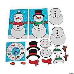 Build a Snowman Board Game