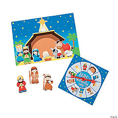 Build the Nativity Game