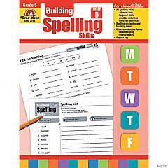 Building Spelling Skills, Teacher's Edition, Grade 5