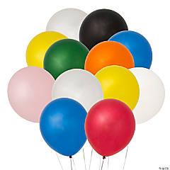"Bulk 11"" Latex Balloon Assortment"