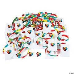Bulk Autism Awareness Bracelets & Pins