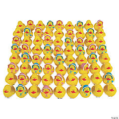 Bulk Baby Shower Rubber Duckies - 72 Pc.