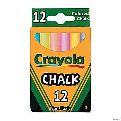 Bulk Crayola® 12 Pc. Children's Colored Chalk