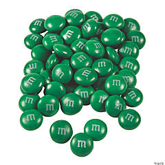 Bulk Dark Green M&Ms® Chocolate Candies