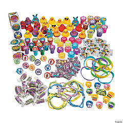 Bulk Easter Egg Filler Candy & Toy Assortment - 500 Pc.