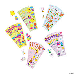 Bulk Easter Sticker Sheets