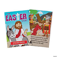 Bulk Easter Story Sticker Books