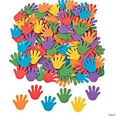 Bulk Foam Rainbow Hand Self-Adhesive Shapes