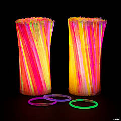 Bulk Glow Bracelet Assortment - 500 Pc.