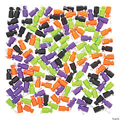 Bulk Halloween Mini Bubble Bottles - 144 Pc.