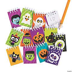 Bulk Halloween Mini Spiral Notepad Assortment