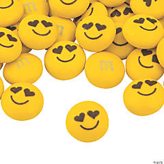 Bulk Heart Eye Emoji Blend M&Ms® Chocolate Candies
