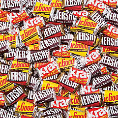 Bulk Hershey's® Miniatures Chocolate Candy