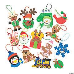 Bulk Holiday Ornament Craft Kit Assortment