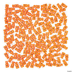 Bulk Jack-O'-Lantern Mini Bubble Bottles - 144 Pc.