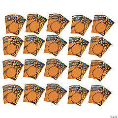 Bulk Jack-O'-Lantern Sticker Sheets - 240 Pc.