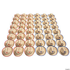Bulk Kids' Cowboy Hats with Star