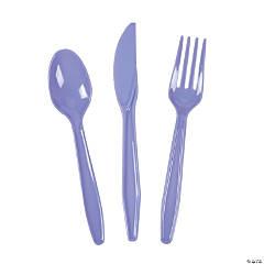 Bulk Lilac Plastic Cutlery Set - 210 Ct.