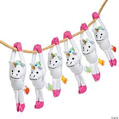 Bulk Long Arm Stuffed Unicorns - 72 Pc.