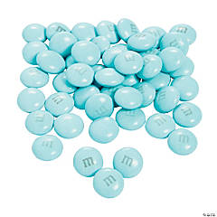Bulk M&Ms® Chocolate Candies - Light Blue