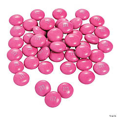 Bulk M&Ms® Chocolate Candies - Dark Pink
