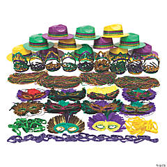 Bulk Mardi Gras Bead & Accessory Kit - 506 Pc.