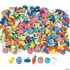 Bulk Mini Easter Eraser Assortment- 500 Pc.
