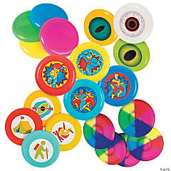 Bulk Mini Flying Disc Assortment