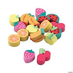 Bulk Mini Fruit Erasers - 300 Pc.