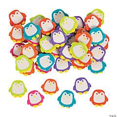 Bulk Mini Penguin Eraser Assortment - 144 Pc.