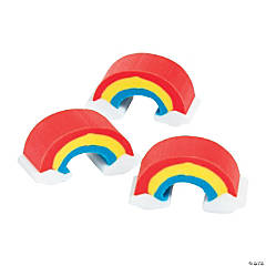 Bulk Mini Rainbow Erasers - 300 Pc.