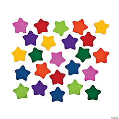 Bulk Mini Star Erasers - 720 Pc.