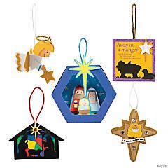 Bulk Nativity Ornament Craft Kits - 240 Pc.