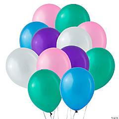 "Bulk Pastel Pearl 11"" Latex Balloons"