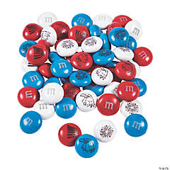 Bulk Patriotic Blend M&Ms® Chocolate Candies