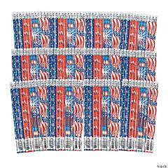 Bulk Patriotic Pencil Assortment - 144 Pc.