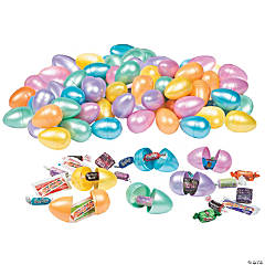 Bulk Pearlized Candy-Filled Eggs