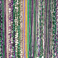 Bulk Plastic Mardi Gras Bead Necklace Assortment - 250 pcs.