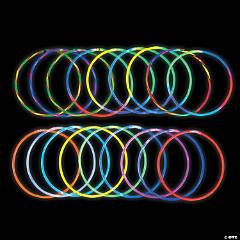 Bulk Premium Glow Necklace Assortment - 250 Pc.