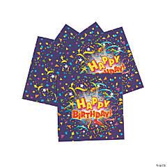 Bulk Purple Birthday Design Paper Luncheon Napkins