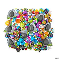 Bulk Religious Pre-Filled Plastic Easter Egg Assortment - 504 Pc.