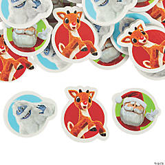 Bulk Rudolph the Red-Nosed Reindeer<sup>®</sup> Characters Eraser Assortment - 144 Pc.