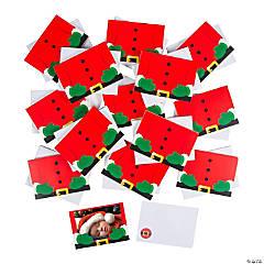 Bulk Santa Photo Holder Greeting Cards