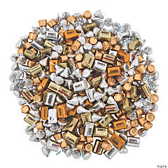 Bulk Silver & Gold Hershey's® Chocolate Candy Assortment  – 800 Pc.