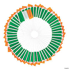 Bulk Small Cloth Irish Flags - 72 Pc.